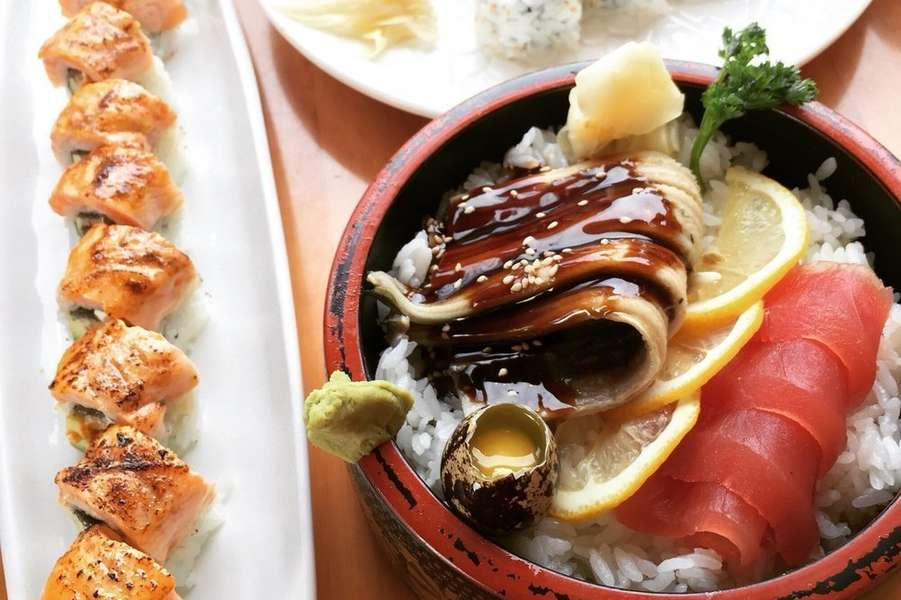 Our restaurant offers a wide array of fine Japanese fusion cuisine, ranging from traditional rolls to modern Japanese cuisine such as the Newbury maki and mango mousse cake. As you'd expect, everything is made fresh to order and tastes exactly how you want it to: fresh, clean, and incredibly flavorful. - Umai
