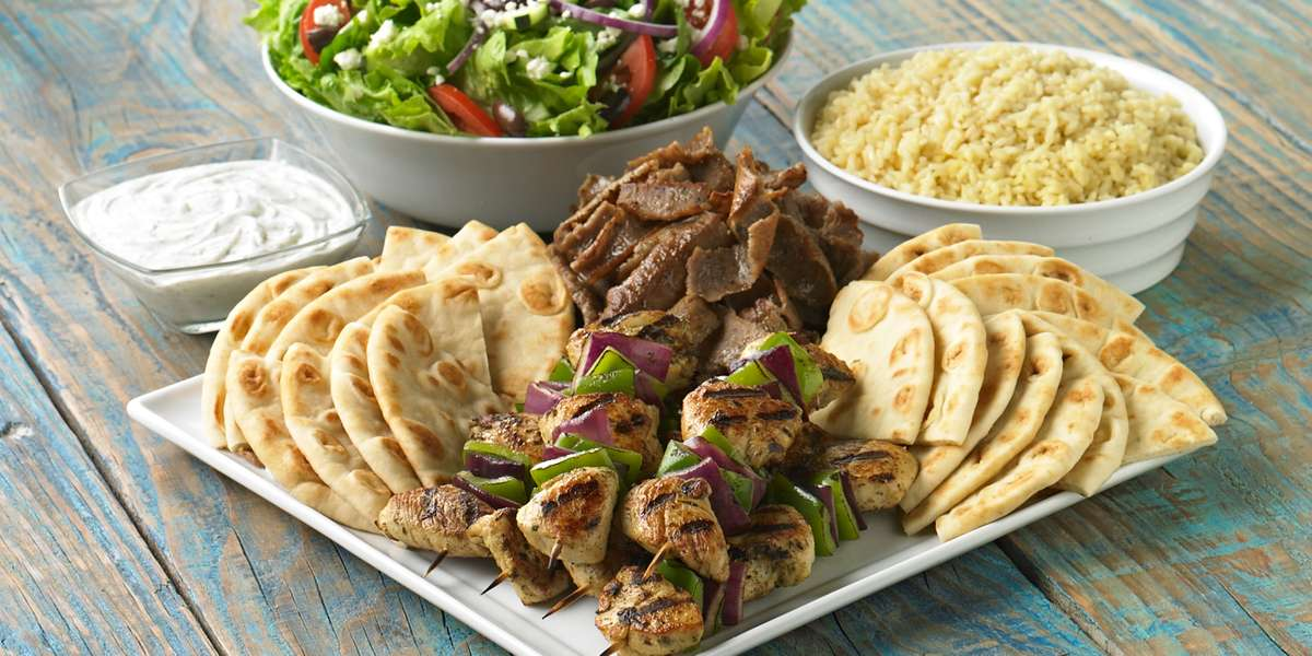 Flavorful, healthy Mediterranean food, including grilled meats, pita sandwiches, and salads. We use fresh ingredients, whole grains, and healthy fats, accommodating a variety of diets. - Daphne's