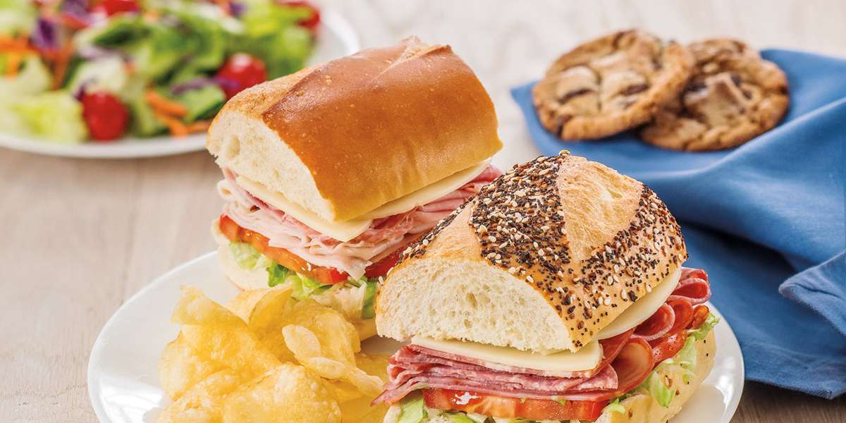 We're serving classic American subs with classic American substance, and that starts with our famous sub rolls. All day long, we're proofing, scoring, and baking our rolls before loading them up with premium meats, cheeses, and condiments. We promise to turn first-timers into regulars!  - DiBella's Subs