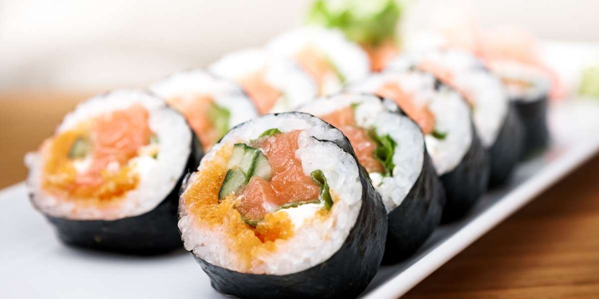 """Our name means """"lyric"""" in Japanese, and you'll be singing high to the rafters when you try our authentic hibachi entrees, sushi rolls, and more.  Order today and conduct your guests through a symphony of harmonious flavors. - Kashi Japanese"""