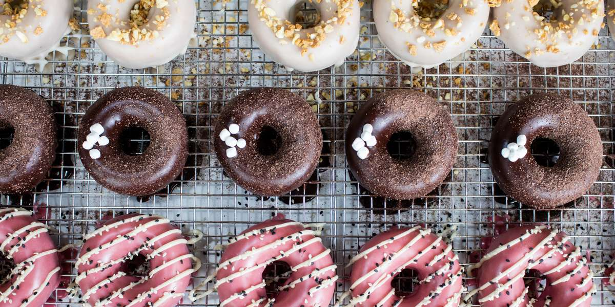 We make donuts that you've never seen, heard, or imagined of before. Take a bite of a peanut butter yuzu donut, or perhaps a morsel of pomegranate-tahini. Better yet, grab a box of assorted and discover a world more magical than that of Bertie Bott's Every Flavor Beans. Yup, they're that special.  - Du's Donuts