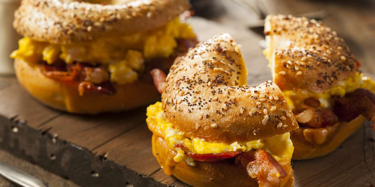 You might be surprised that there's such a good, authentic New York-style deli in Greenville. After over 17 years, we've become a favorite destination for those looking for the best bagels outside the boroughs. All it takes is our Bagel Bash to turn your breakfast into an office smash! - Greenfield's Bagels & Deli
