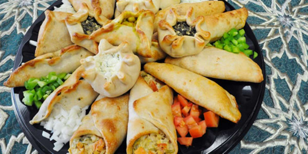 Our customers rave about our fatayer: phyllo dough pastries filled with meat, cheese, or spinach. We make them in house with a time tested recipe. Pair them with a fattoush salad or shish tawook for a meal all of your guests will enjoy. - Tiger Bakery