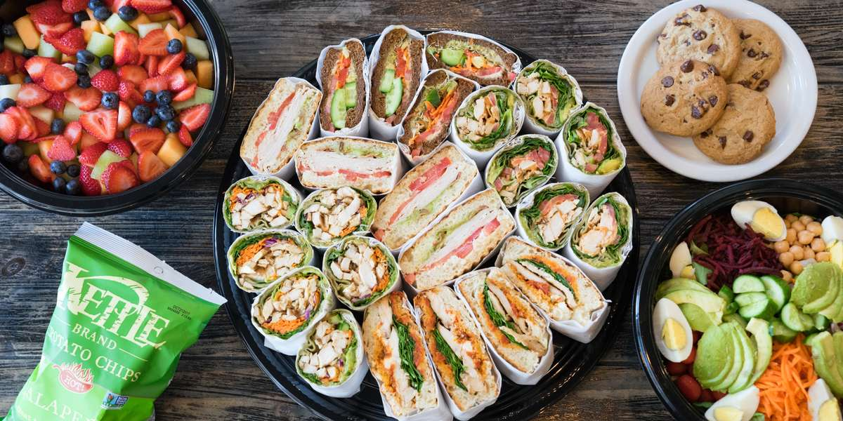 We specialize in healthy and organic breakfasts, sandwiches and salads with plenty of vegetarian options. Don't forget to order a few homemade empanadas to spice up your next catering event.  - Kachi Deli Cafe