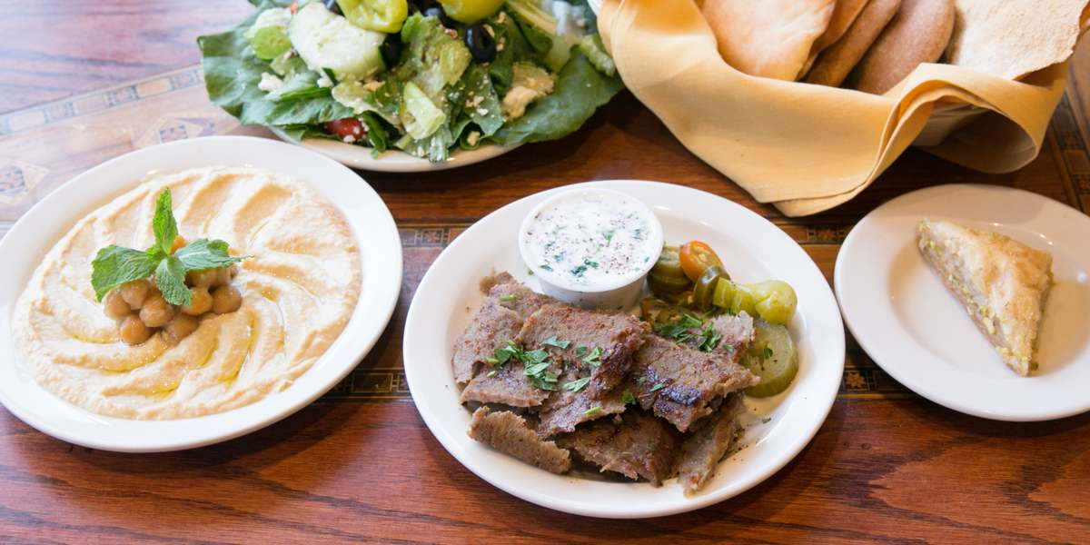 Our owner-chef Fadi Dimassi began his training in Lebanon, in his family's restaurant. In 1996 he opened the first Fadi's in Houston, and continued the tradition. With Texas-sized portions and budget-friendly prices we've become an area favorite! - Fadi's Mediterranean Grill
