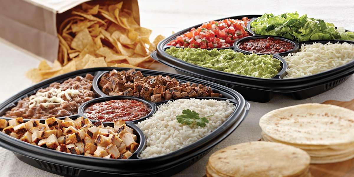 We offer delicious, conveniently-packaged meals that are a breeze to serve. From party trays and boxed meals to a build-your-own taco bar, we've got you covered.  - Rubio's Coastal Grill