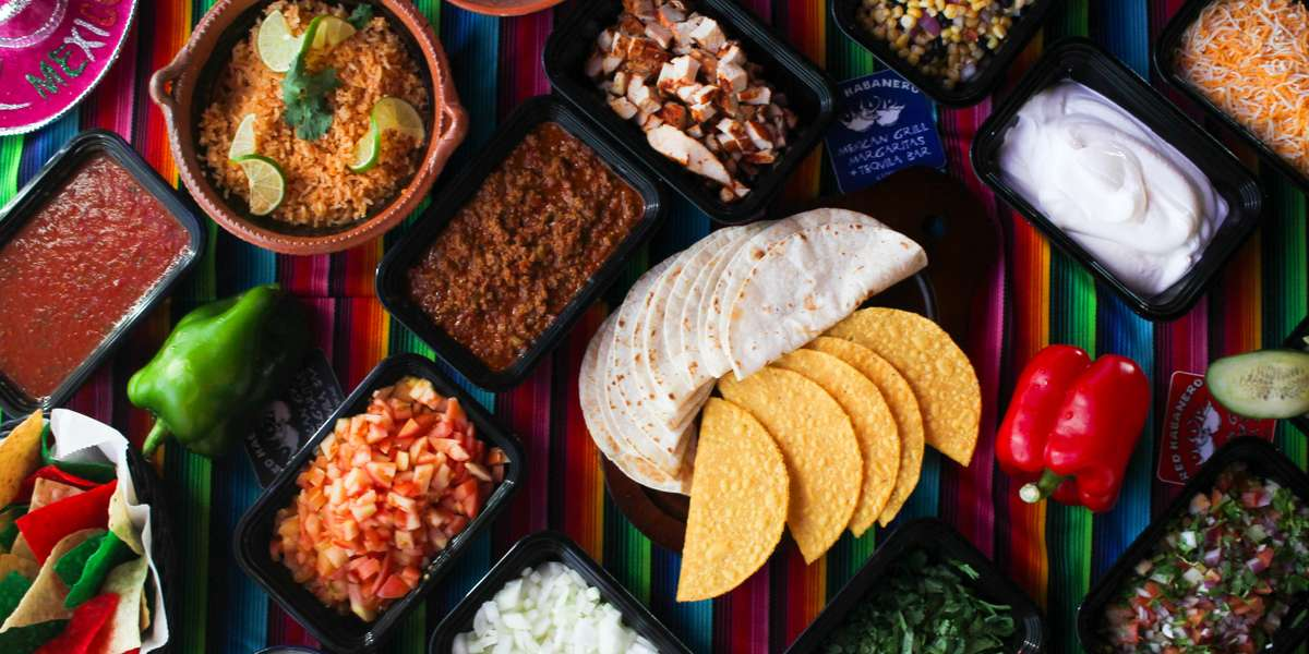 Looking to spice up your office meeting? Then look no further! Let us fulfill your catering needs with our taco or fajita bar catering packages, complete with assorted meats, tortillas, chips & salsa, and all the fixings.   - Red Habanero