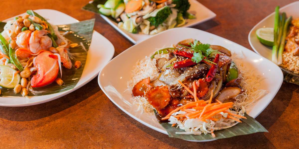 We offer a full array of classic Thai dishes, from red, yellow & green curries to sweet pad Thai and spicy pad kee mao. No more do you have to worry about feeding everyone in your office something tasty and satisfying, as we have something every will love. Yelpers say everything on our menu is flavorful and spiced just right. Try us today and see how amazing Thai food really is.  - Jai Thai