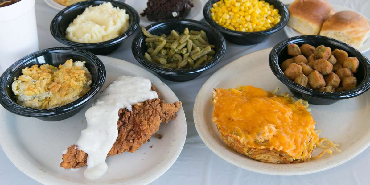 Take a look at our menu and you won't want to wait to place your order. Our country breakfast all but guarantees a good morning. For lunch, our old-fashioned catering packages are sure to hit the spot whether you're craving chicken fried steak or teriyaki chicken.  - Catering by Julie's
