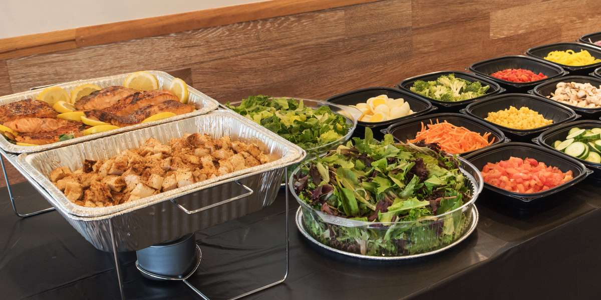 Just think of us as your own personal chef/health guru. Choose from an array of salad toppings, from sirloin steak to portobello mushrooms, and freshly-carved sandwich meats. Whether you're looking for Asian, Mexican, or American flavors, we've got you covered. - Doc Green's Gourmet Salad and Sandwich Bar