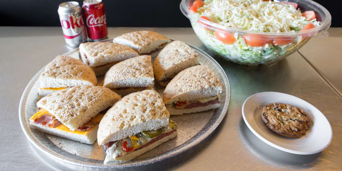 We offer a fantastic selection of Italian entrees, pizza, and sandwiches. Order our assorted sandwiches to make sure you get something that everyone will enjoy.  - Joe Boccardi's Catering