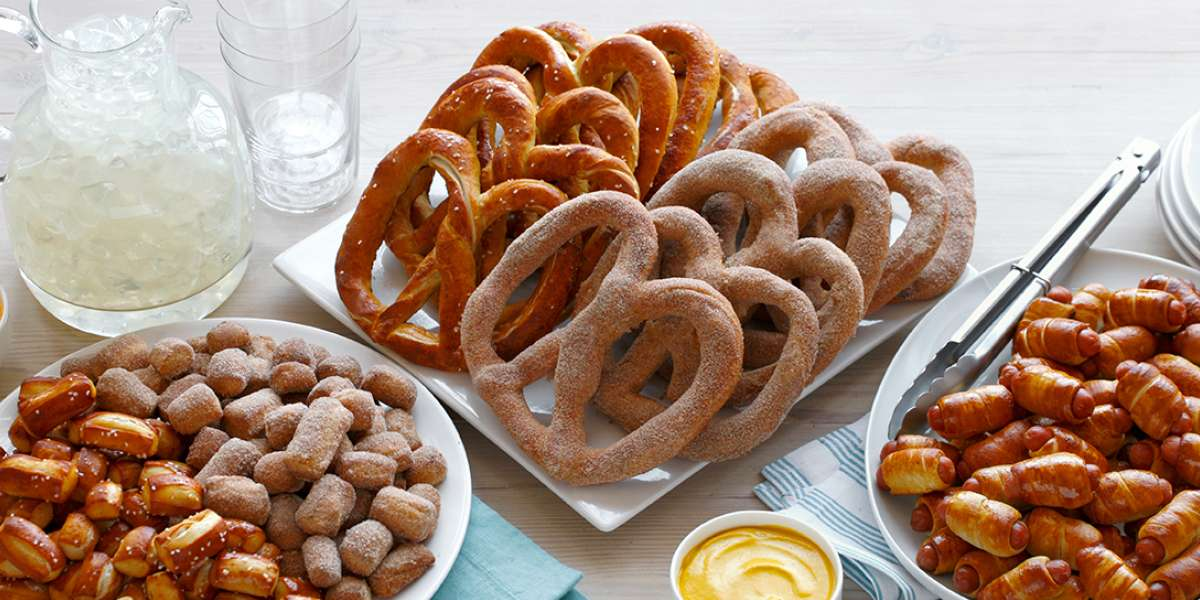 It all started back in 1988 at a farmer's market in Downingtown, PA. Anne Beiler and her husband sold a variety of snacks, including hand-rolled, soft pretzels. Today, Auntie Anne's rolls more than 500,000 pretzels every two days, which is enough to feed a pretzel to every person living in Lancaster County, PA (home to Auntie Anne's, Inc.). - Auntie Anne's Pretzels