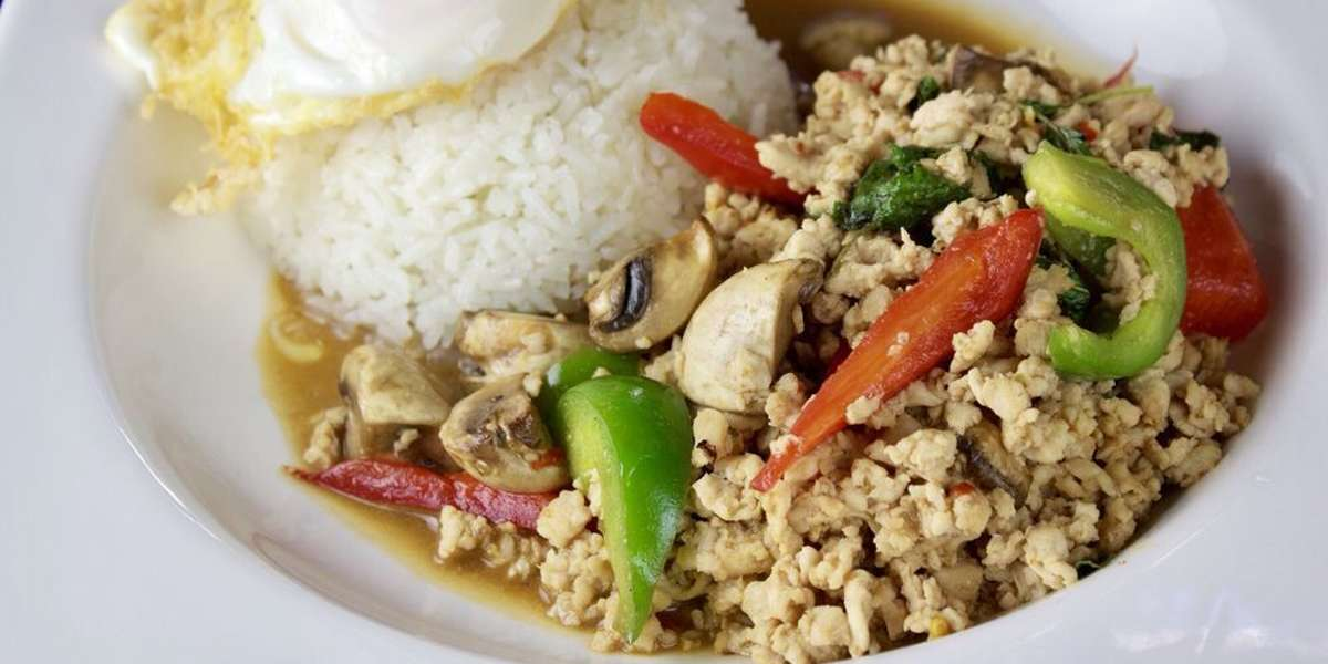 If you've ever wondered what it's really like to eat in Thailand, then you've found your answer. We offer an authentic take on the bold, flavorful, and spicy street food that Thai cuisine is known for. For a unique dish with classic Thai influences, our signature Thai rotisserie chicken is a delicious choice. - Heng Thai & Rotisserie