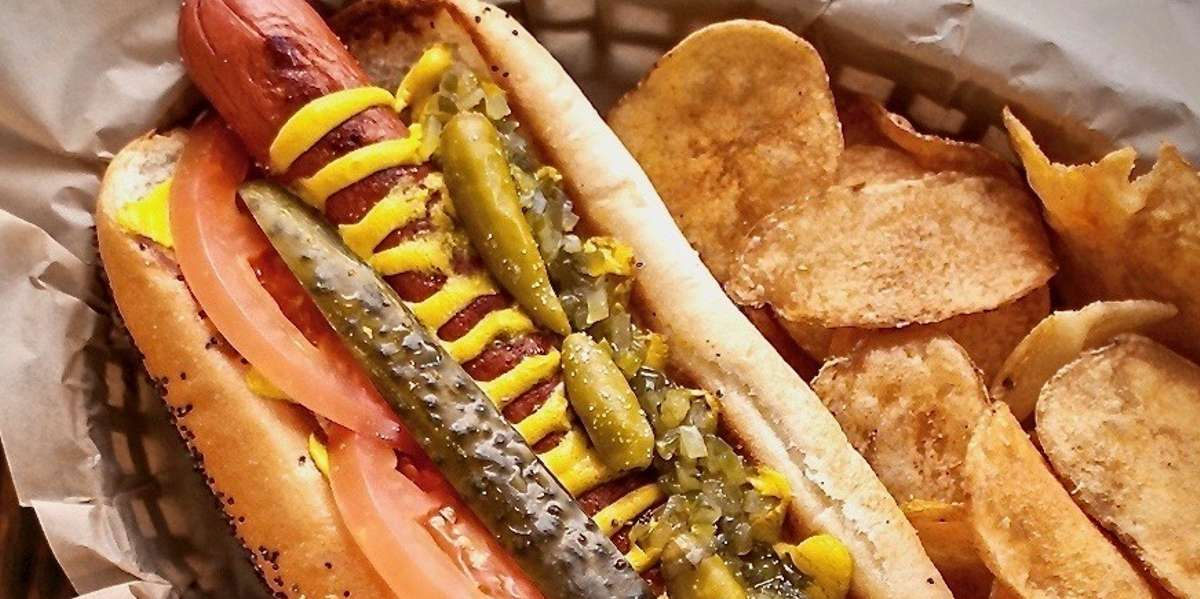 Whether you're in the mood for creative hot dogs, sausages stacked with all the fixings, or a delicious sandwich, we've got you covered! Our inventive combinations prove that the possibilities are endless between two buns. - Rocket Dog Gourmet Brats & Brew