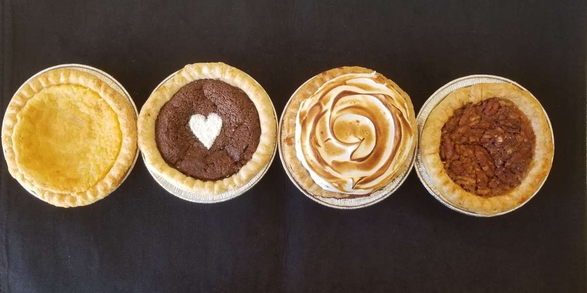 Craving something sweet for your next meeting? You've got the right pie-dea! Our artisan pies are crafted with seasonal ingredients and our signature all-butter crust to satisfy your sweet tooth. - Crave Pie Studio
