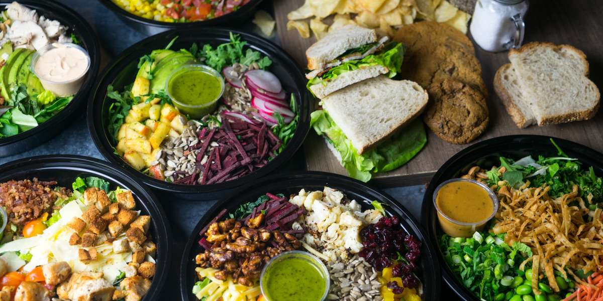 """Our food is for everyone. No matter what diet you practice, we have an array of chef-crafted options for you. Order a raw vegetable sandwich, bahn mi, or detox salad and be a part of our """"eat well, be well"""" culture. - Agra Culture"""