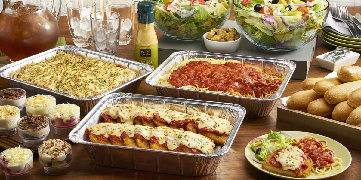 We're proud to serve fresh, delicious Italian food. Our menu offers our take on Italian classics and is sure to delight all of your guests. - Olive Garden