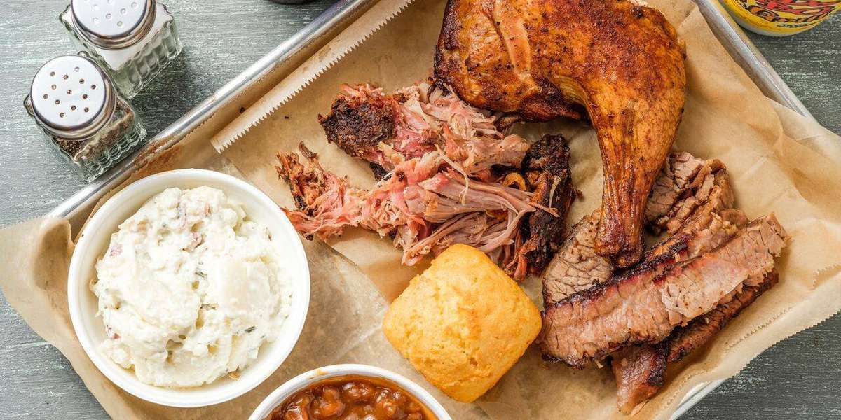 Based in the heart of New Orleans, we add a spicy, local flair to traditional BBQ cooking. Our food is distinctive, from our slow-smoked meats and uniquely flavored BBQ sauces to signature sides like our Gris Gris Greens. - VooDoo BBQ & Grill