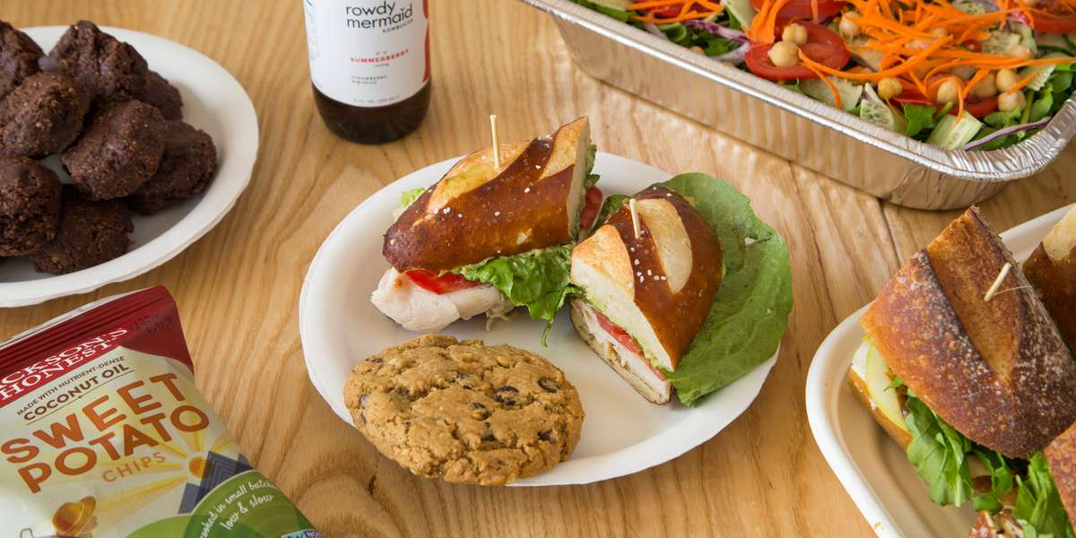 We've got the best sandwiches in town! From our unique specialty creations to all of the classics, we've got something here for the vegetarians, meat-lovers, vegans, and more! Everybody always says that you are what you eat, and here we believe that it's true. With 100% organic ingredients, we ensure that you fill yourself with only the best. - Organic Sandwich Company