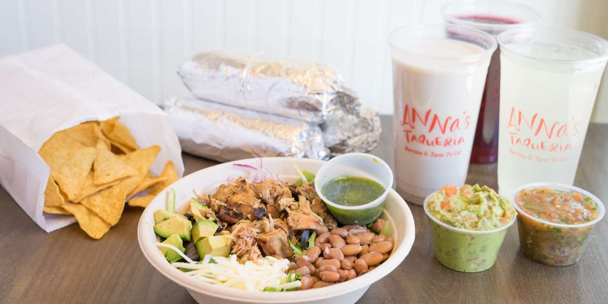 We've been Boston's most beloved taqueria since 1995. We keep it simple: fresh ingredients, authentic recipes, and expert assembly go into each of our burritos, tacos, quesadillas, and Mexican plates.  - Anna's Taqueria