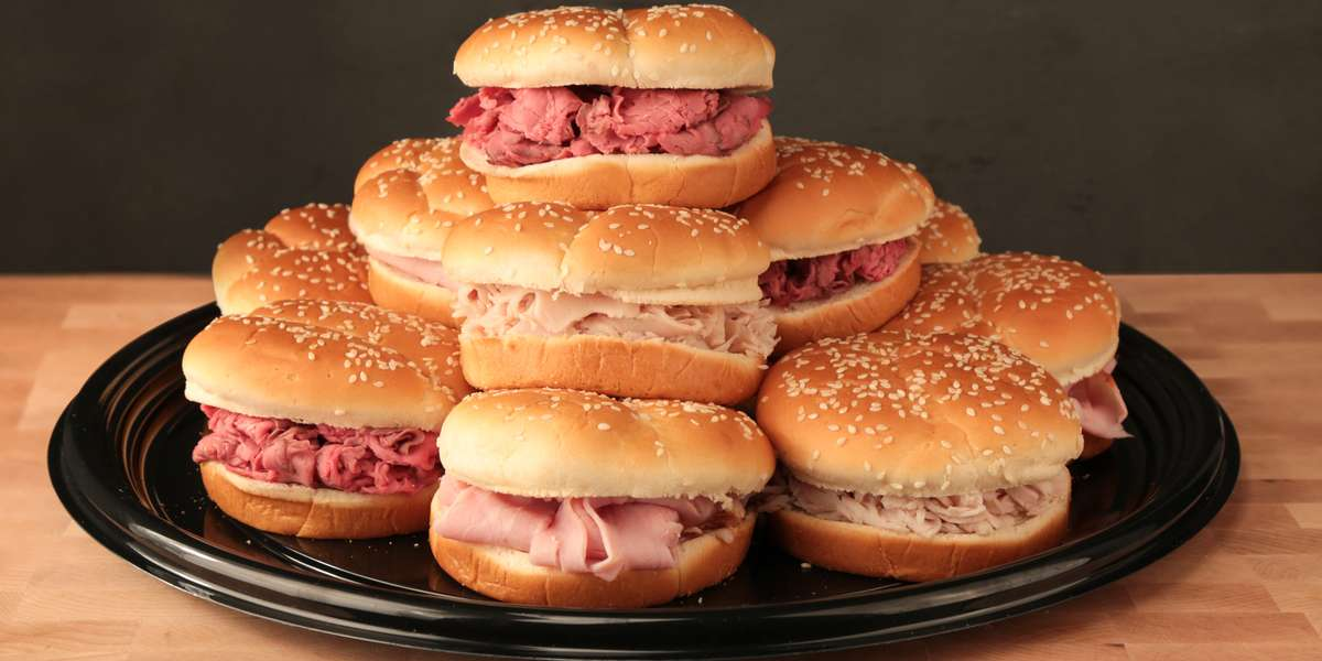 Since 1967, customers have loved our classic roast beef sandwich, cooked medium-rare, made to order, shaved thin, and served hot with a dash of secret seasoning. The result is a mouth-watering sandwich that is always hot, healthy, tasty, and keeps loyal customers coming back for more. - Lion's Choice