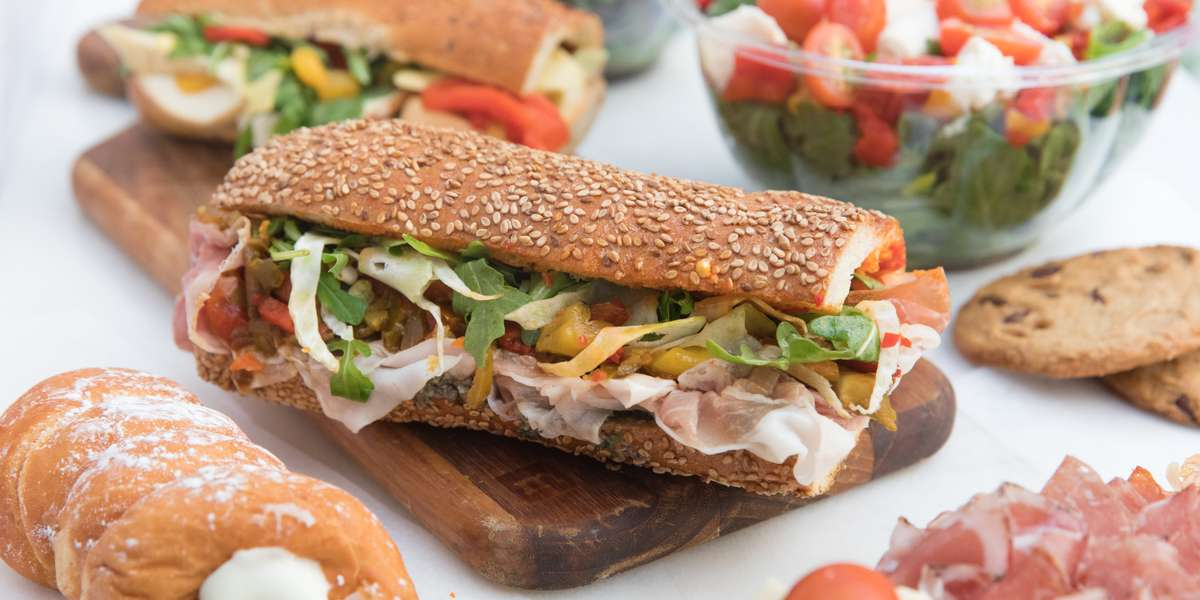 Alidoro is an Italian specialty sandwich shop originally founded in 1986 in the heart of New York City's SoHo, now with locations in Midtown and NoHo. Named #1 sandwich shop in NYC by Zagat, our sandwiches are made fresh to order from only the finest Italian ingredients. 