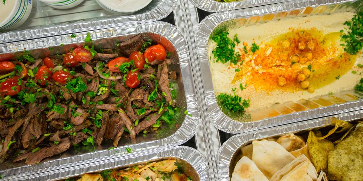 We've put a modern twist on the Mediterranean dishes you know and love! Everything on our authentic menu is made from scratch with high-quality, locally sourced ingredients. We've been told our slow-roasted, traditionally seasoned Beef Shawarma is the best around, along with our award-winning Fattoush Salad. - Meddys