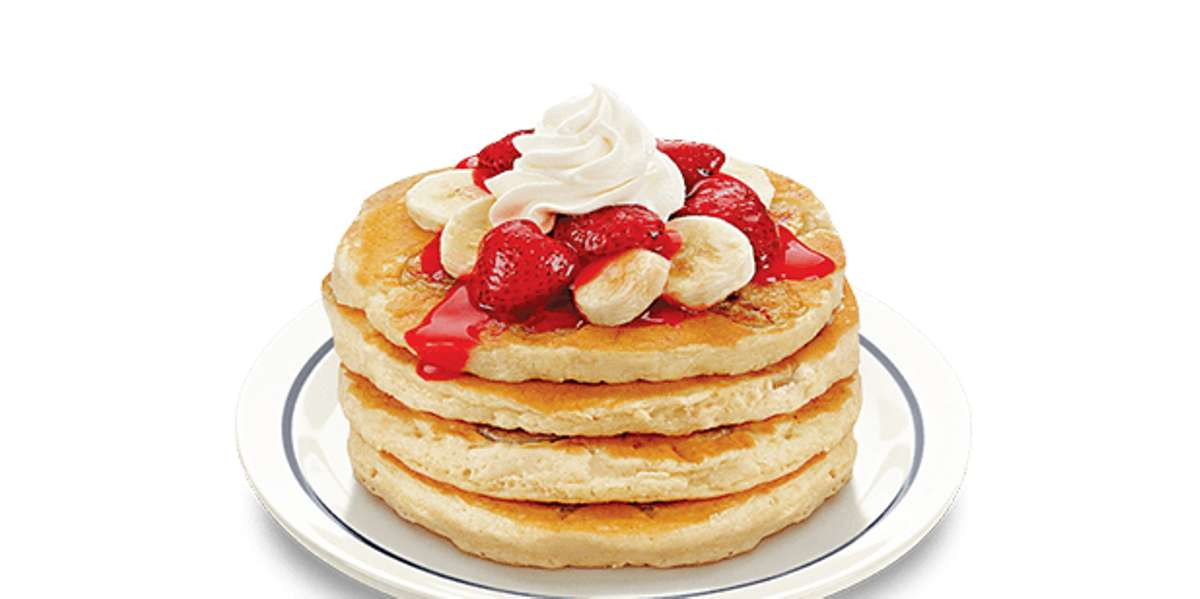 Everything you love about breakfast, anytime you want. You know why you love our famous pancakes, now bring that warm familiarity to your next event. If breakfast isn't quite right for your crowd, check out our delicious sandwiches and salads. Whatever you do, don't forget dessert-- crispy banana strawberry cheesecake, yum! - IHOP