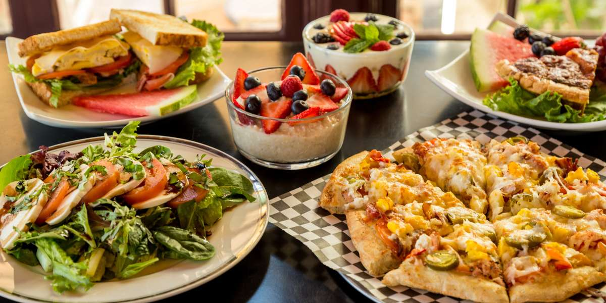 Our menu is loaded with flavorful sandwiches and original pizzas, along with a selection of breakfast items and pastries. We truly offer a little something for everyone! Considering ourselves a one stop gourmet deli, we take pride in the food we serve. - Hob Nobs