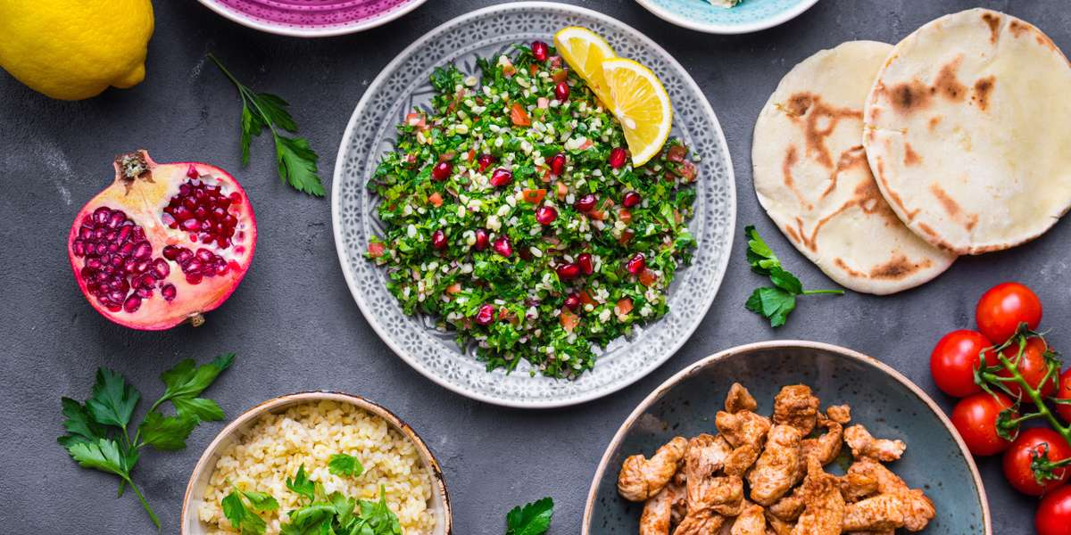 Our food is deeply rooted in tradition and we pride ourselves on offering dishes that are both delicious and healthy. We get our inspiration from Mediterranean and Lebanese cuisines, so come try our chicken shawarma wrap or tabule salad for a traditional meal bursting with flavor.  - Jana Grill & Bakery