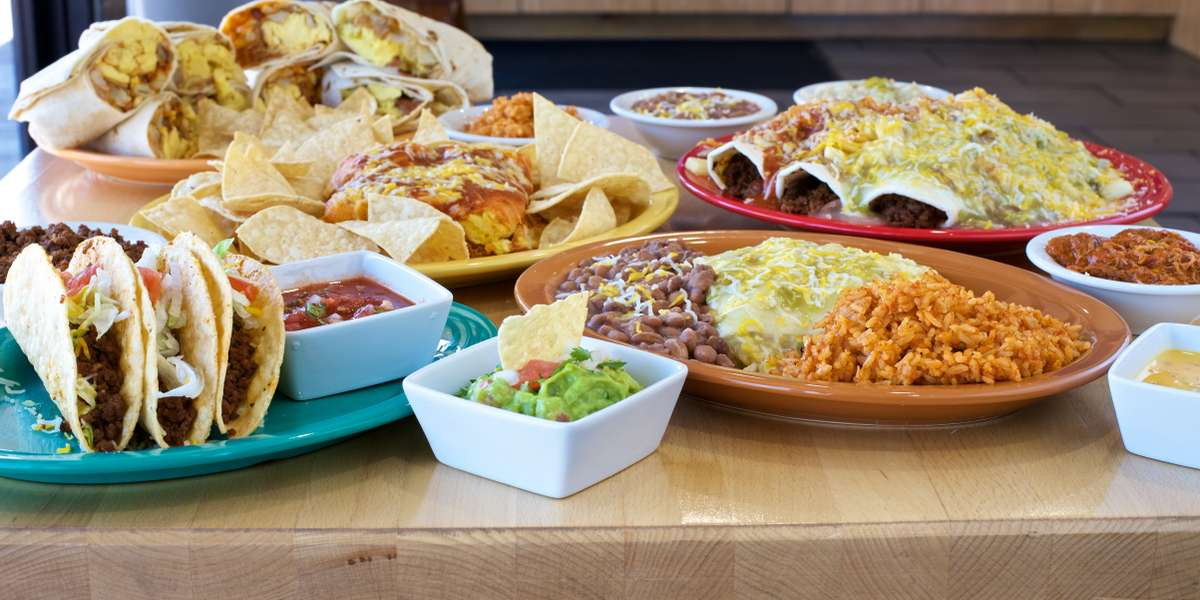 Since 1998, we've been the go-to choice for New Mexican specialties as well as American favorites. We know how to serve quality food at fast food prices, and whether you opt for our breakfast burritos or the Whole Enchilada, your meal will always have a twist!  - Twisters