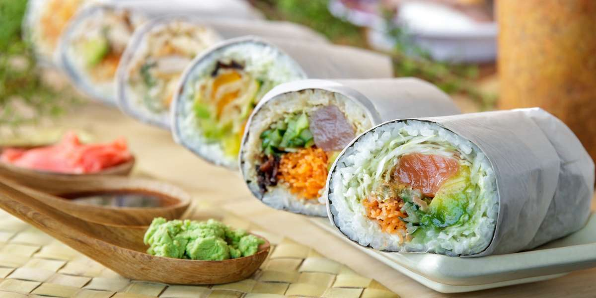 Our signature fillings and flavor combinations can be served sushi burrito-style, over rice, or on top of crisp greens. But our mission goes beyond serving up fun, fast, and fresh sushi! We also partner with organizations such as World Relief to hire area refugees in need of an employer who offers all of its employees dignity, respect, and livable wages.  - Sushioki