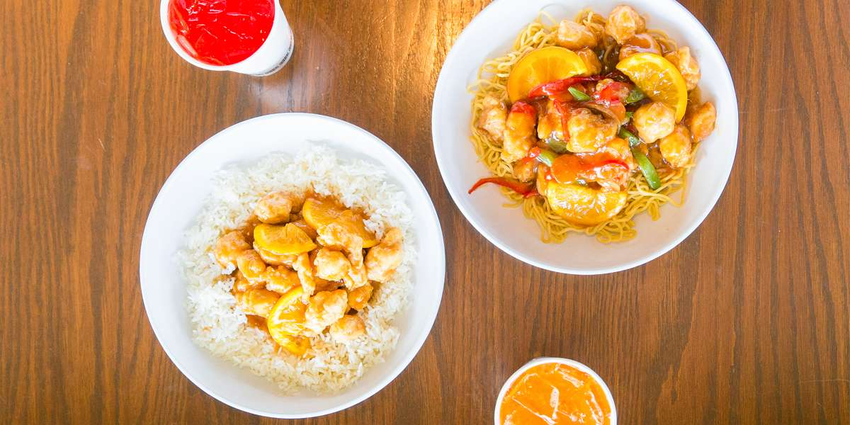 Welcome to the foreign yet familiar; welcome to Pei Wei! The vibrant flavors of our dishes are inspired by the recipes of five different Asian cultures. We use 700-degree woks to seal in bold flavors, no-hormone-added chicken, and our egg & spring rolls are always made by hand.  - Pei Wei Asian Kitchen