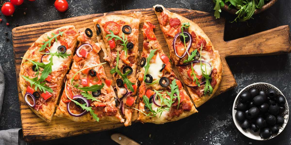 Voted the Best Gourmet Pizza in America, 2011, we're all about serving world class pizzas with global inspiration. Try our Napa Valley, Bombay, or Bangkok pizzas, with innovative flavors that jump right off the crust. - PizzaBOGO
