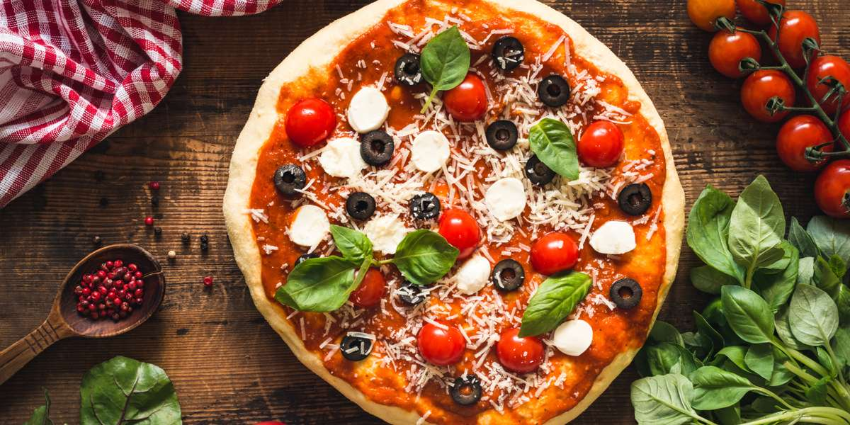 If you're longing for simple, classic flavors to please any crowd, you can't go wrong with our pizza. Build your own with our range of toppings, then pair it with a tray of hot wings and a green salad for a meal your guests can't refuse. - David's Pizza