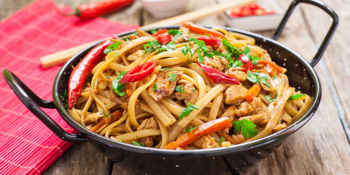 We feature a modern Chinese menu that stays true to our authentic roots. We offer old and new favorites like General Tso's chicken and pineapple chicken with black bean sauce. Customers say our food is richly flavored without being overwhelming, with portions that are the right size to leave every guest satisfied. - SangKee Noodle House