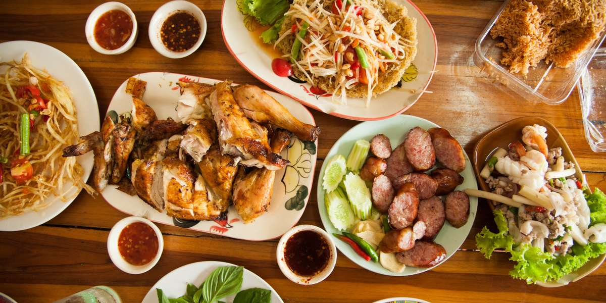 We're proud of offer you delicious and authentic Thai cuisine for your event of any size. We have gluten-free options as well as savory appetizers like our dumplings or egg rolls. If you're looking for traditional Thai food, we've got you covered. - Mile High Thai