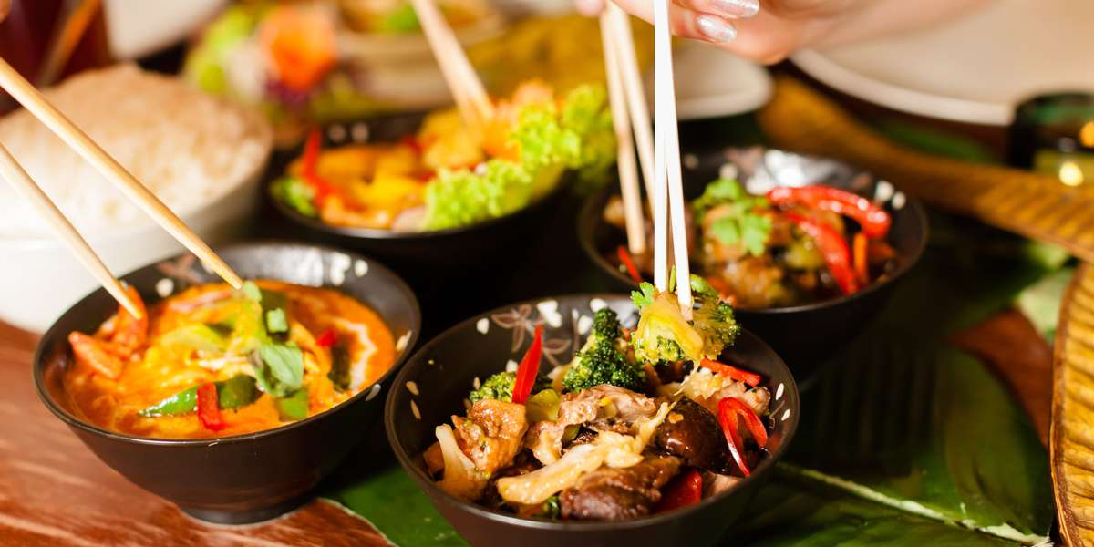 We offer modern twists to traditional Thai classics. Try our take on pumpkin curry or our unique brisket curry and your taste buds won't be sorry. Order from us for an extra kick of spice to your next event, meeting, or party.  - Thai Me Upp