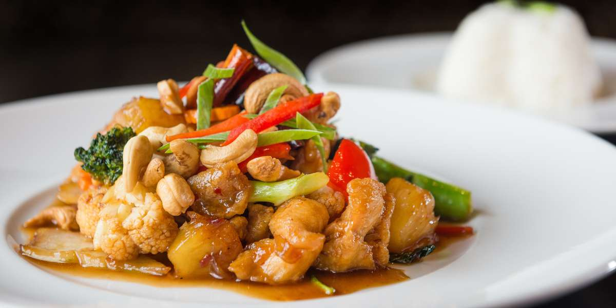 Thai food is known for its balance of flavors. With a wide variety of options, you're sure to find something for everyone in the office.  Start with curry puffs, and try our pad Thai- it's a customer favorite!  - Spicies