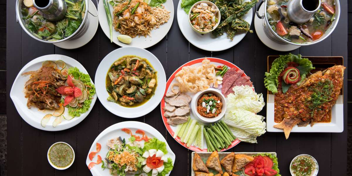 You don't have to hop a plane to Phuket to sample Thai cuisine. Our menu is full of classic dishes just like what you'd find roaming the busy streets of Bangkok, from pad Thai to massaman curry. With options for vegetarians and meat eaters alike, everyone can experience the exquisite flavors of Thailand. - Tong-D Thai & More