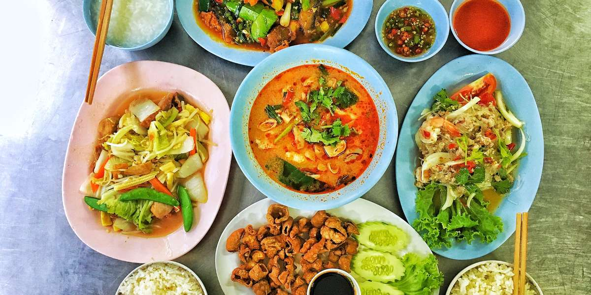 We offer your favorite classic Thai dishes along with contemporary Asian fusion. Our mission is to create a party in your mouth with exciting spices, herbs, and flavors. Give our unique cuisine a try for a modern Thai experience.  - Thai by Day