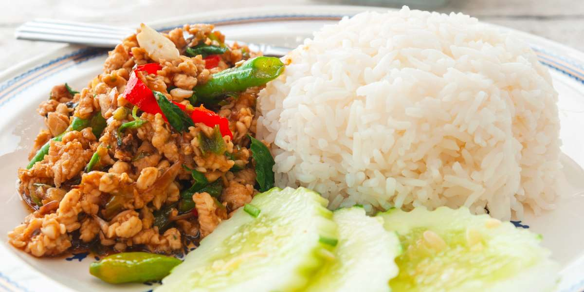 We specialize in fresh and authentic vegetarian Thai cuisine. What does that mean? No fish sauce, no MSG, just tons of flavor. Vegetarians, get excited, because this is your moment. And meat eaters, don't count out our entrees. They can tame even the wildest of appetites. - Wedgwood II Vegetarian Thai