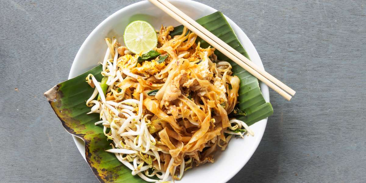 Thai cuisine has a world-wide reputation for its delicate balance of flavor. We offer the best of that balance in a blend of Thai and Chinese flavors. Our Pad See Aew and Panang Curry are sure to excite any hungry guests, and our portions won't leave anyone hungry. - Smile Thai Restaurant