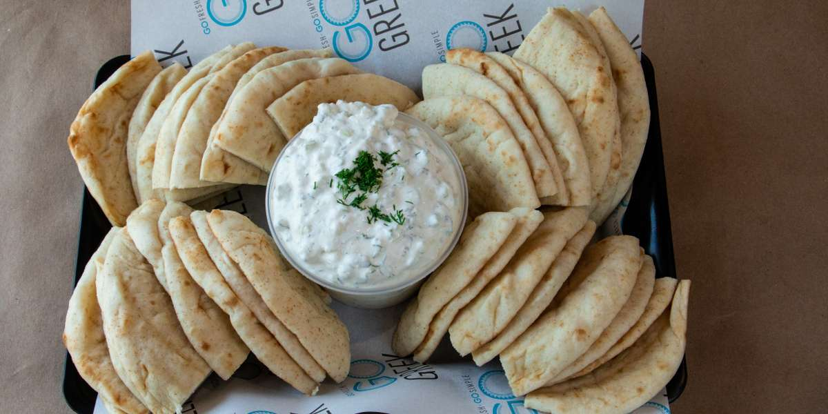Our mission is to bring the authentic taste of Greece without sacrificing quality. We only use fresh ingredients and non-GMO and antibiotic free meats. We also use biodegradable packaging, and we believe in the ability to impact lives through sharing food and culture. Traditional, fresh, conscious, simple, that's the way to Go Greek. - Go Greek