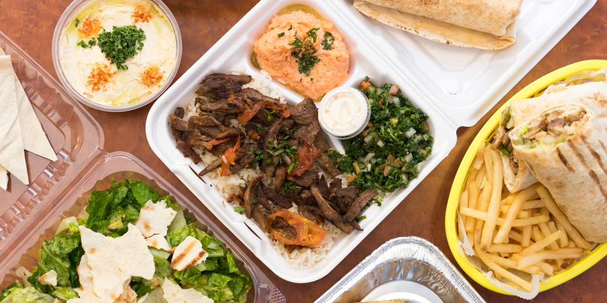 We're known for our classic and delicious Middle Eastern fare. From our signature roll-ups to our hearty platters, we pack unparalleled flavors into each and every bite. In addition to shawarma and falafel, we serve salads, dips, and more! - Shawarma Falafel