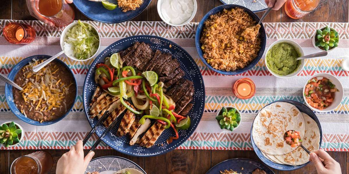 Authentic Mexican favorites are always crowd pleasers. Sizzling, mesquite-grilled fajitas, hand-rolled enchiladas, fresh guacamole, zesty salsa...  - On The Border