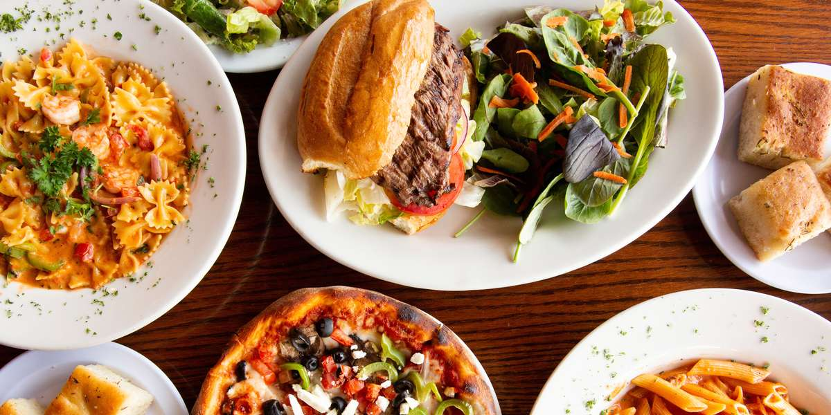 We pride ourselves on providing a top quality product for an affordable price since 2003. Our generous Menu 2 catering package includes an entree, salad, and pasta for under $11. For a larger group, consider a mix and match of group-style pasta and salad trays - averaging at about $5 a head. We even feature desserts like cheesecake and tiramisu! - Viztango Cafe