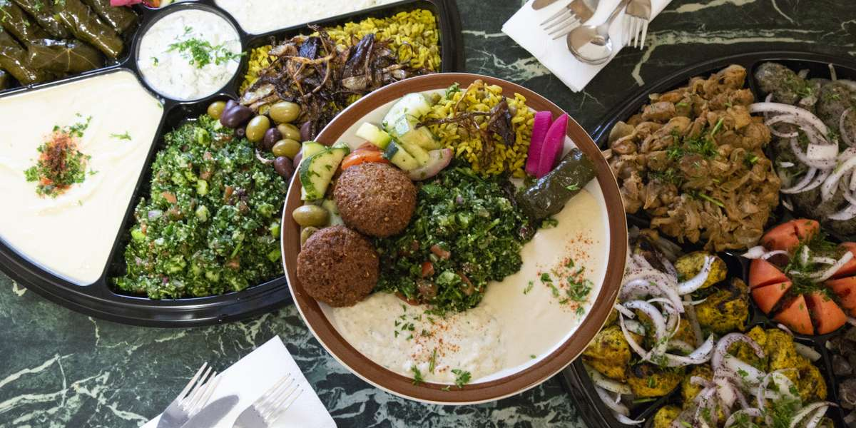 We've been serving fresh, house-made Middle Eastern food since 1984. Your guests are sure to be impressed by our shawarma, falafel, hummus, and more. We're proud to serve Halal meat and fresh, local produce that brings our local regulars coming back again and again. - Sunrise Deli